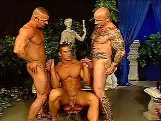 Concupiscent Hunks In A Hot Foursome