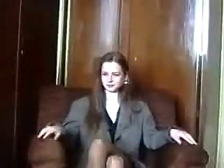 Shy Latvian Virgin Is Seduced On Camera Part 1