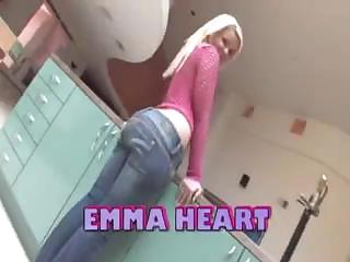 Kewl Wazoo Blond Emma Heart Gets Fucked Hard Up Her Big Curvy Ass