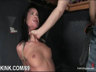 Adulteress blackmailed and dominated in bondage