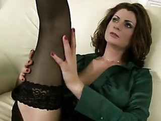 Sensual cougar Maiky fingers her slick mother i'd like to fuck muff