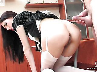 Judith&Adam vehement anal clip