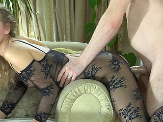 Barbara&Rolf awesome pantyhose action