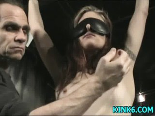 Helpless girl receives humiliated