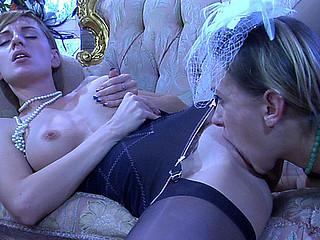 Denis&Rosa hawt lesbian act