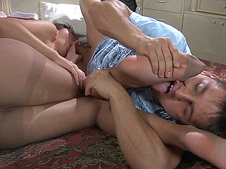 Carol&Govard nasty nylon feet action