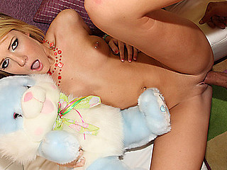 Cute Riley Ray gets her virginal Snatch Fucked!