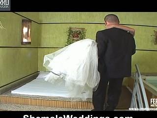 Marcela desirous shelady bride