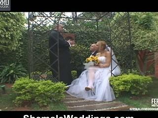 Alessandra bold shemale bride
