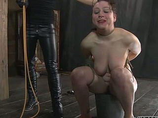 Sweet sweetheart receives lusty torture
