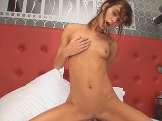 Natasha Shy enjoys shoving fingers in all her holes