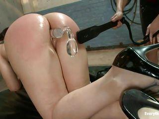 busty milfs having anal pleasure