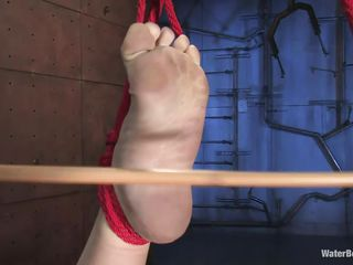 sarah jane: bound, gagged, and tortured... or is it pleasured?