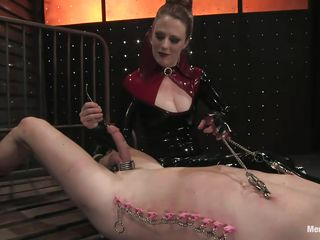 dick torture for tied pain thrall