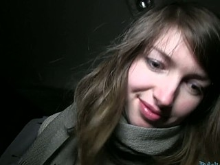 Lovely Lyda is savoring a thick schlong in a car hungrily