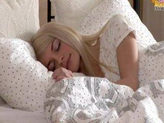 Miniature blonde teen Elena...