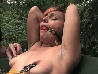 Beautiful hawt hotty knox suspended, dog play, slavery and anal sex.