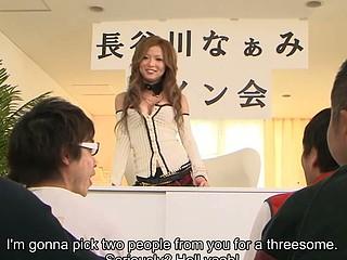 Japanese honey Naami Hasegawa group fucked