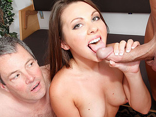 Cali acquires her spouse to watch a real 10-Pounder fuck her