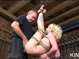 Tricia Oaks drilled & spanked