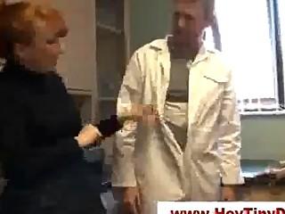 Cfnm femdom small schlong humiliation