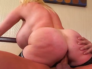 Kayla: Giant Fake Tit Whore