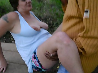 Granny dogging cuck cpl creampie finish part 3
