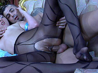 Madeleine&Frederic nylon footfuck movie