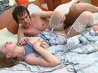 Abel&Roger wicked nylon clip scene