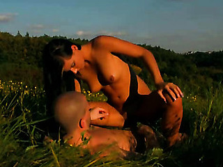 Great outdoor sex scene