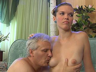 Cecilia&Caspar cutie and oldman movie scene