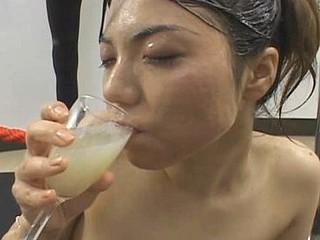 Bukkake Drinker 6