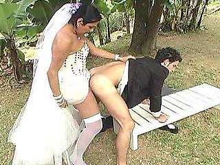 Carol slutty shemale bride