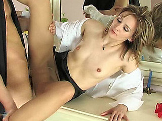Isabella&Felix secretary hose sex action