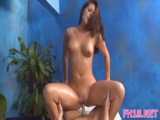 Gal gets cock in snatch