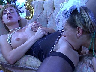Denis&Rosa hawt lesbian action