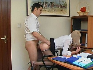 Orsi&Adam great pantyhose episode