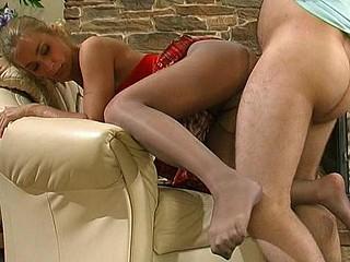 Diana&Lesley pantyhose fuck scene