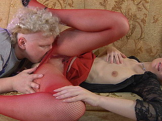 Mary&Jack naughty pantyhose movie
