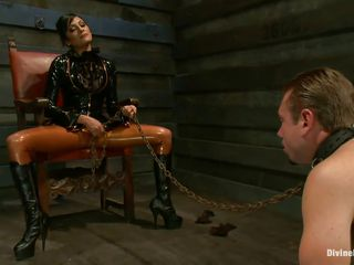 divine bitch demands complete submission from her stud