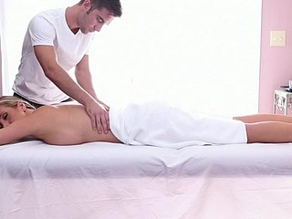 Alluring massage for busty pierced nipples chick