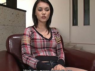 Japanese whore Maria Ozawa sucks three weenies