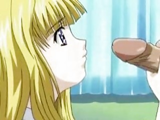 Lengthy haired Blonde hentai