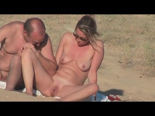 hidden vid of sexy French couple on the beach part 6