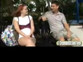 Redhead Legal age teenager Floozy Receives Preggy