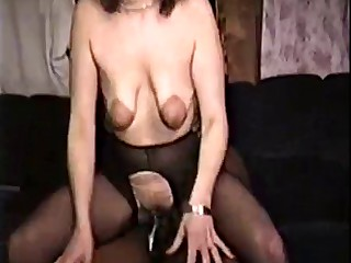 saggy mature takes bbc for hubby to see