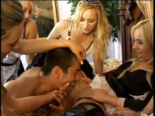 Aiden Star and sweetheart maid got their g-spot tickled