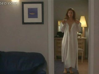 Heart-Stopping Blonde Babe Alex Kingston Shows Her Bush and Bumpers