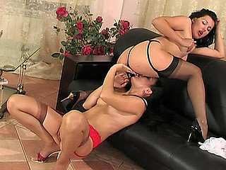 Laura&Rosa hardcore nylon movie