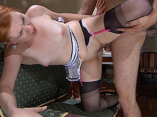 ChloeB&Ed hot nylon clip scene